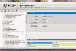 SysTools Driver Viewer 1.0