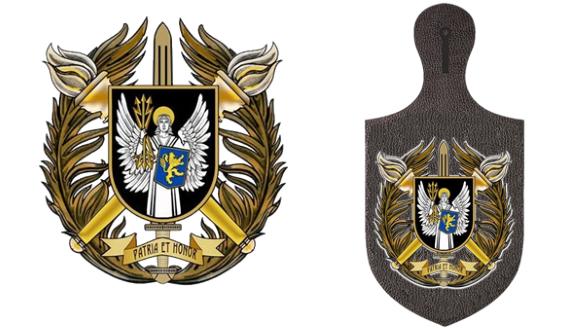 символіка Військового інституту телекомунікацій та інформатизації імені Героїв Крут ВІТІ