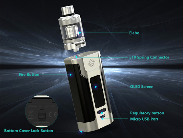 User Manual For Wismec Predator 228