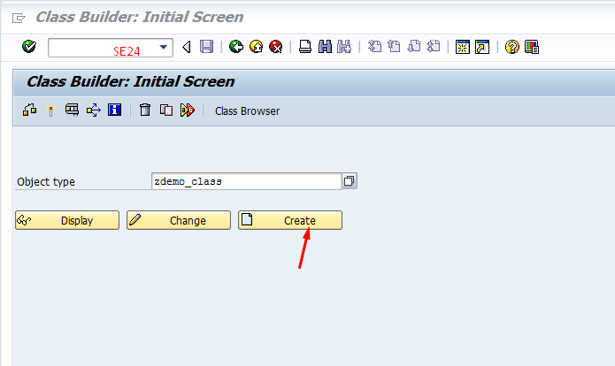 Step by Step Tutorial on Creating class in SAP ABAP Class