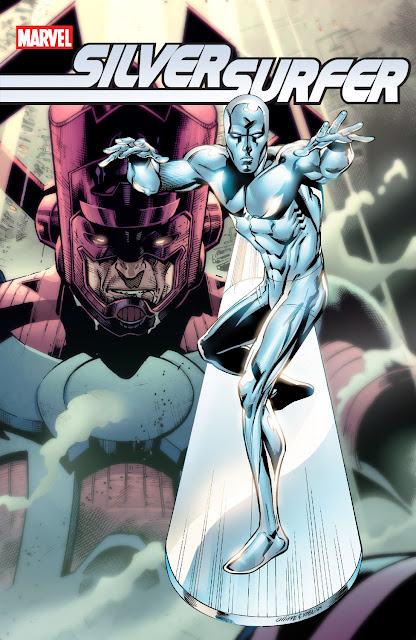 silver surfer galactus