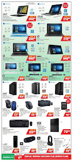 Staples Flyer Weekly - Back to School Low Prices valid September 20 - 26, 2017