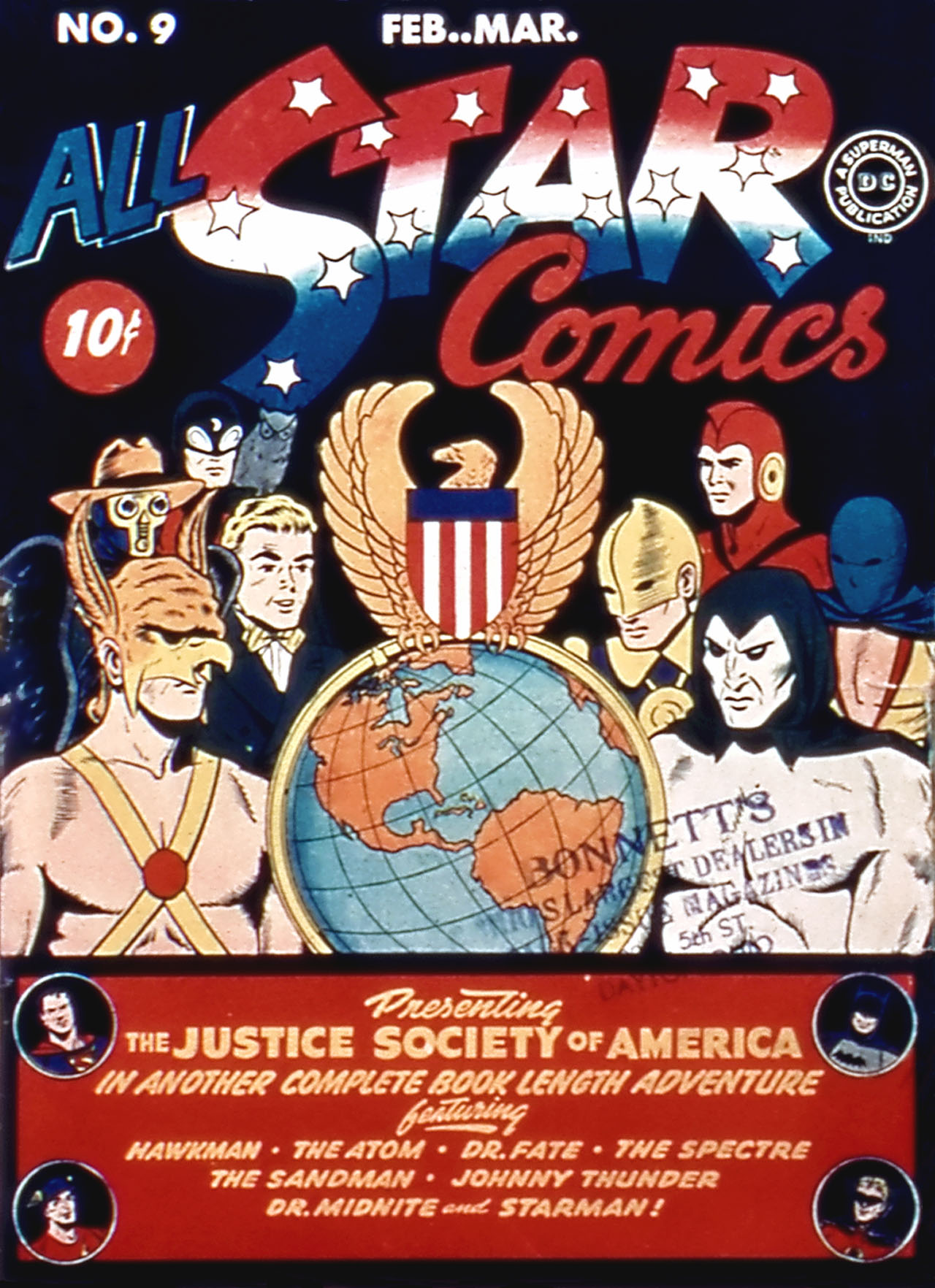 Read online All-Star Comics comic -  Issue #9 - 1