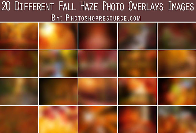 Fall Haze Photo Overlays