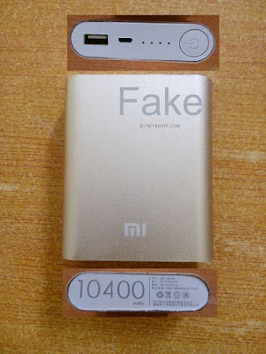 Fake Xiaomi MI Power Bank