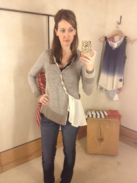 ae53317d767442 I think it will be so cute with skinny jeans tucked into brown boots for  fall. I bought this one in the XS. It looks like the XL is only size  available ...