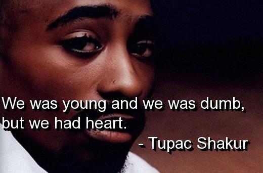 Tupac Quotes: Web Design