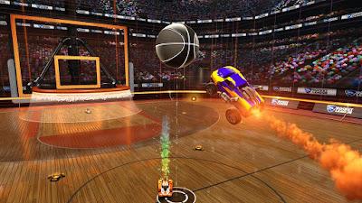Rocket League - עדכון הכדורסל הגיע כבר במהלך הלילה