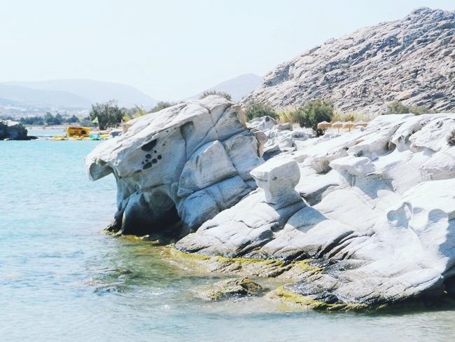 Paros plaze