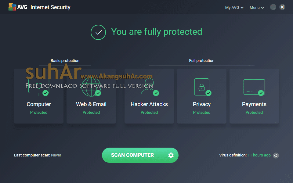 Free Download AVG Internet Security 2018 Full Version