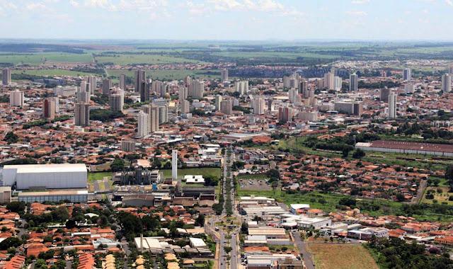 Araraquara imagem aérea