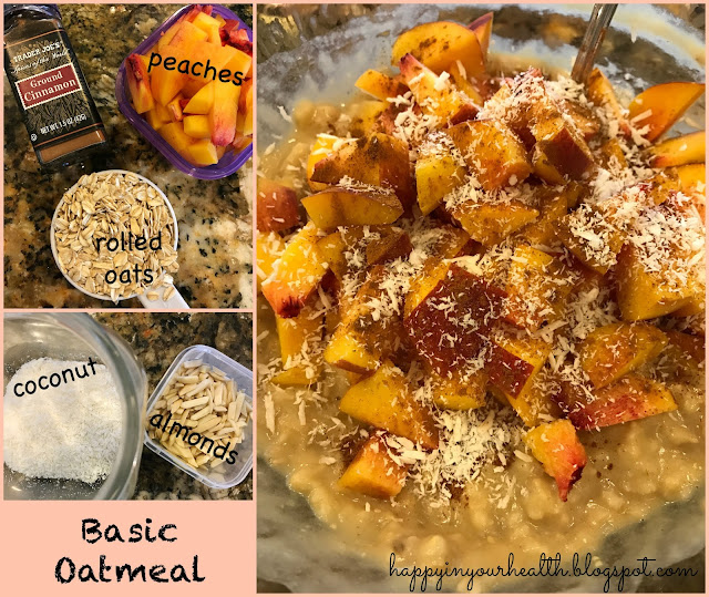 Get the Recipe for Basic Oatmeal Here!