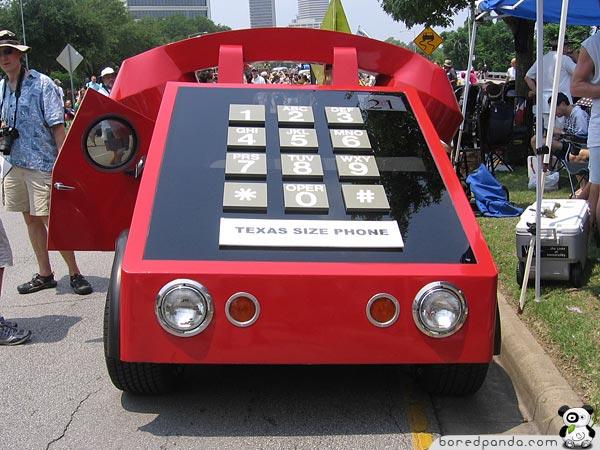 Telephone Car