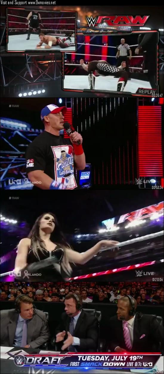 WWE Monday Night Raw 20 June 2016 HDTV 480p