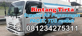 supplier air pegunungan