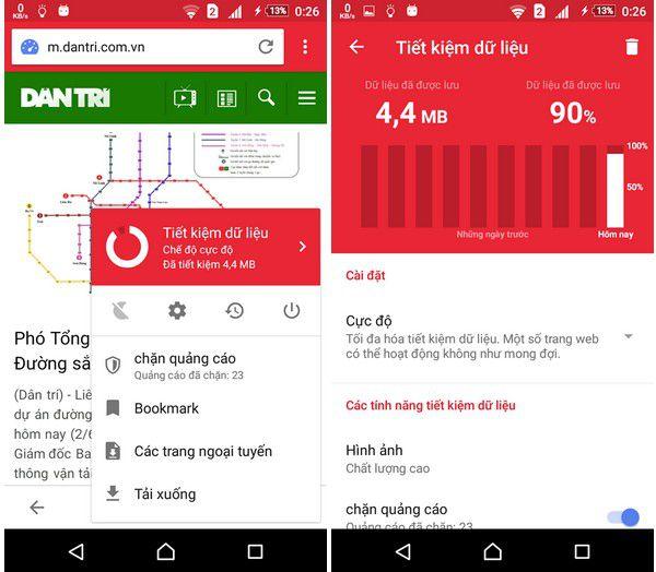 Cách dùng 3G/4G tiết kiệm nhất trên điện thoại Android