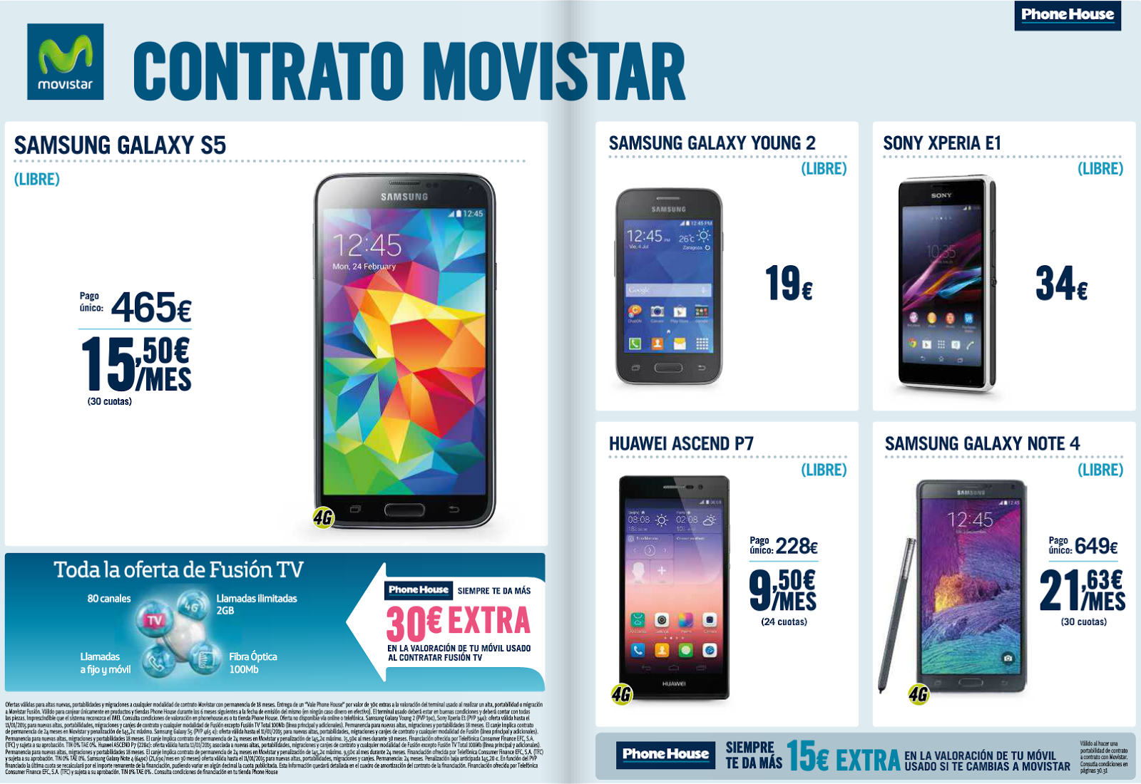 Movistar Smartphones Libres Phonehouse Sur Ingenia Mobile