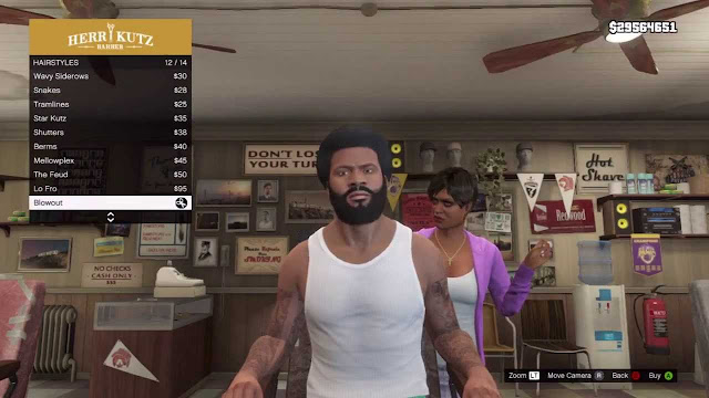 gta 5 franklin afro