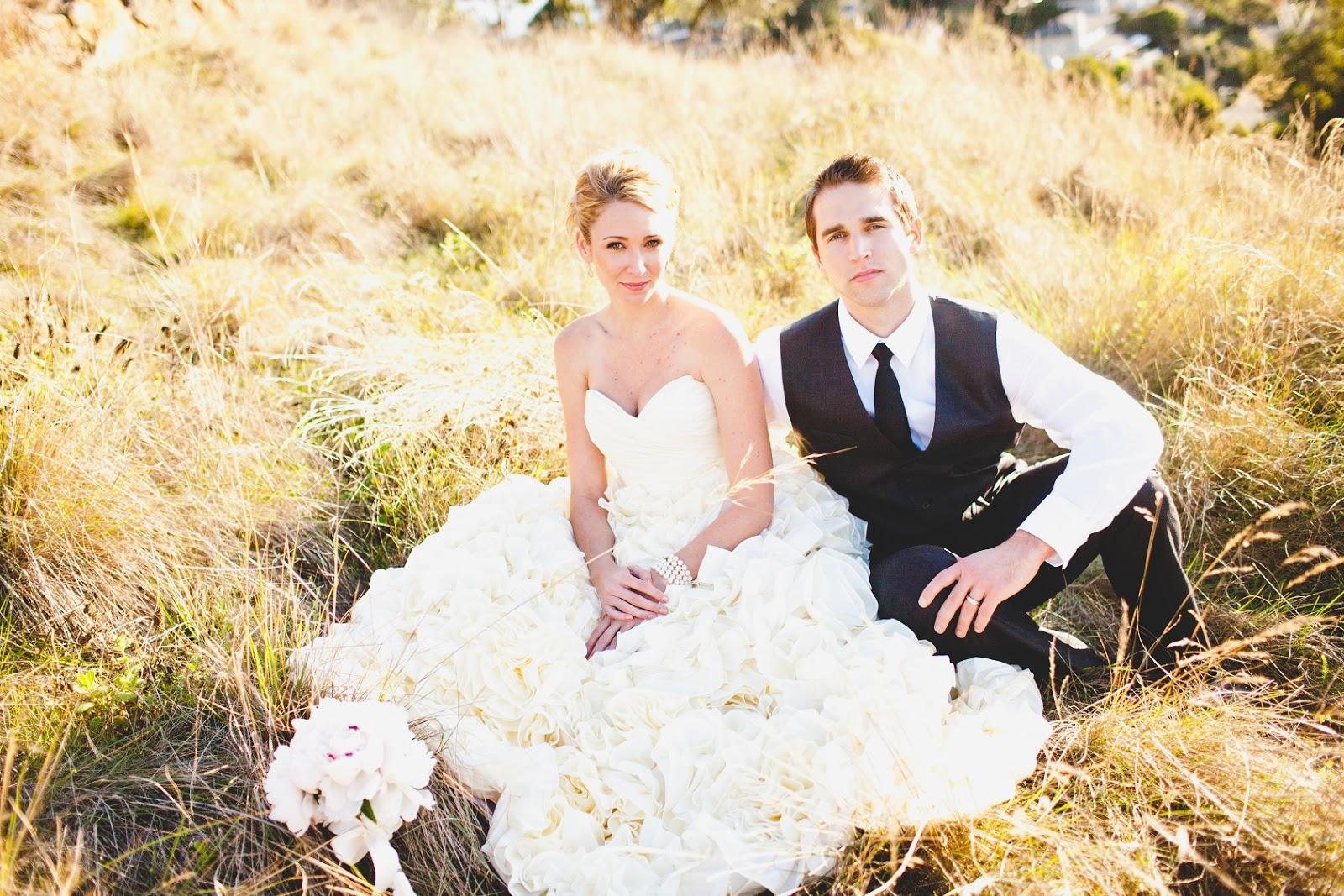 Erin Coleman Sunday Rose Wedding Dress Replica Real Bride Megan