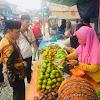 Zainal Abidin Belanja di Pasar  Bedug Seleman. Warga Yakin Kerinci Hebat Menangkan Pilkada Kerinci