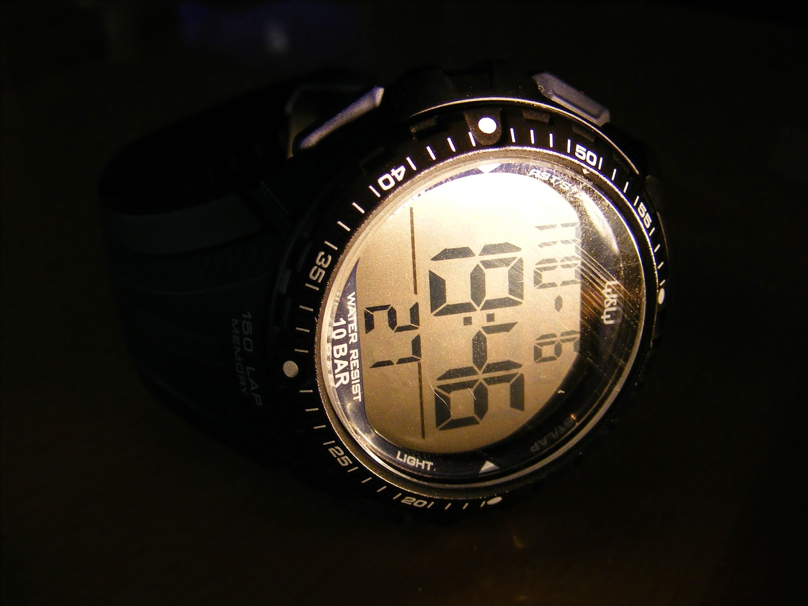 qq running watch sports laps