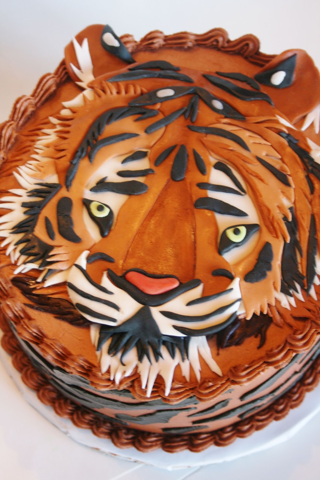 And Everything Sweet Tiger Cake