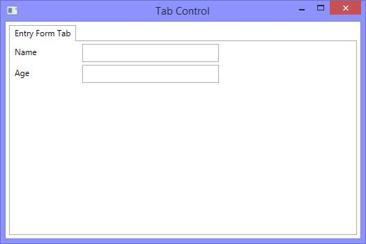 How to customize tab control in WPF and XAML