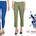 Amazon: US Polo Assn. Women's Pants at Flat 70% OFF Rs.269