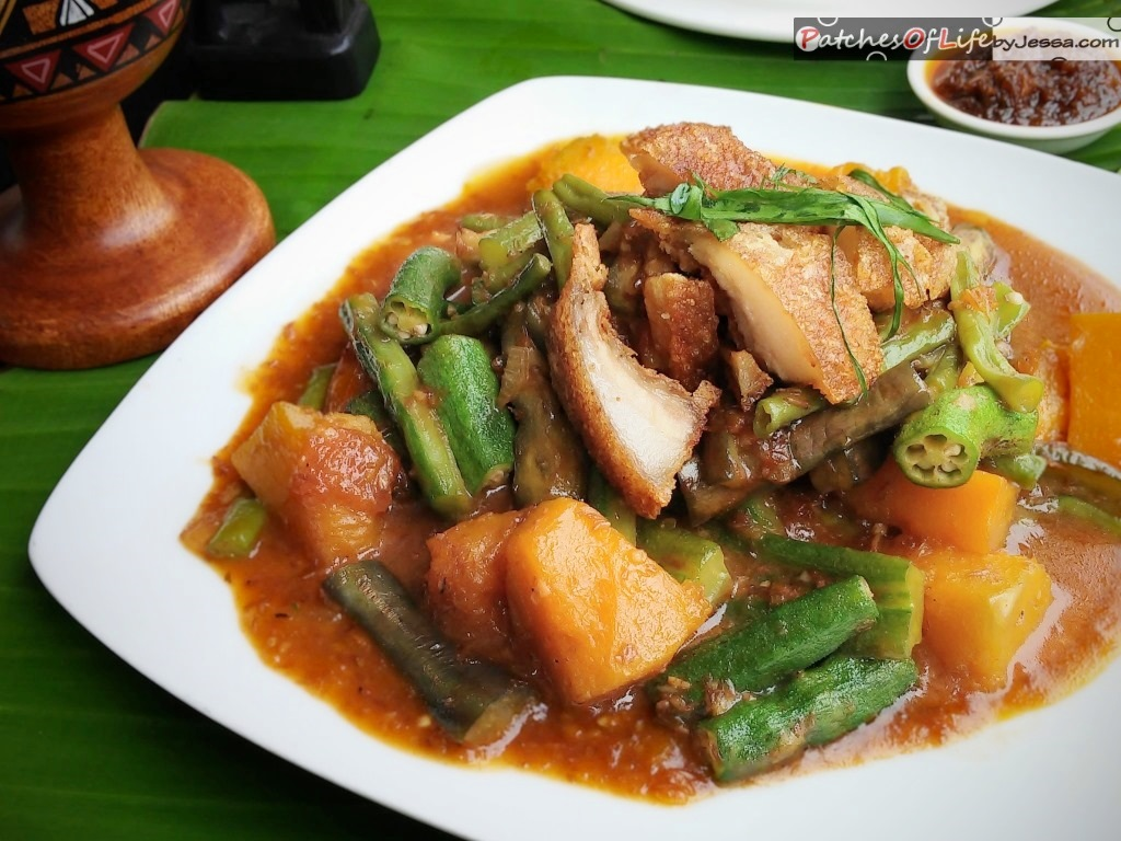 Antonio J Bagoong Rice With Bagnet Classic Kare Kare And More Patches Of Life