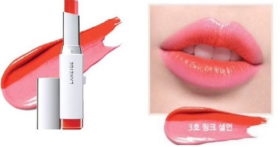 WateryScenery: Laneige Two Tone Lip Bar #3 Pink Salmon