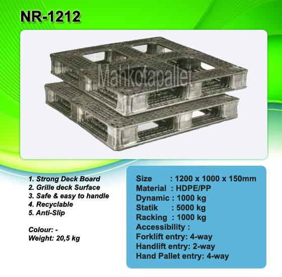 Jual Pallet Plastik NR-1212