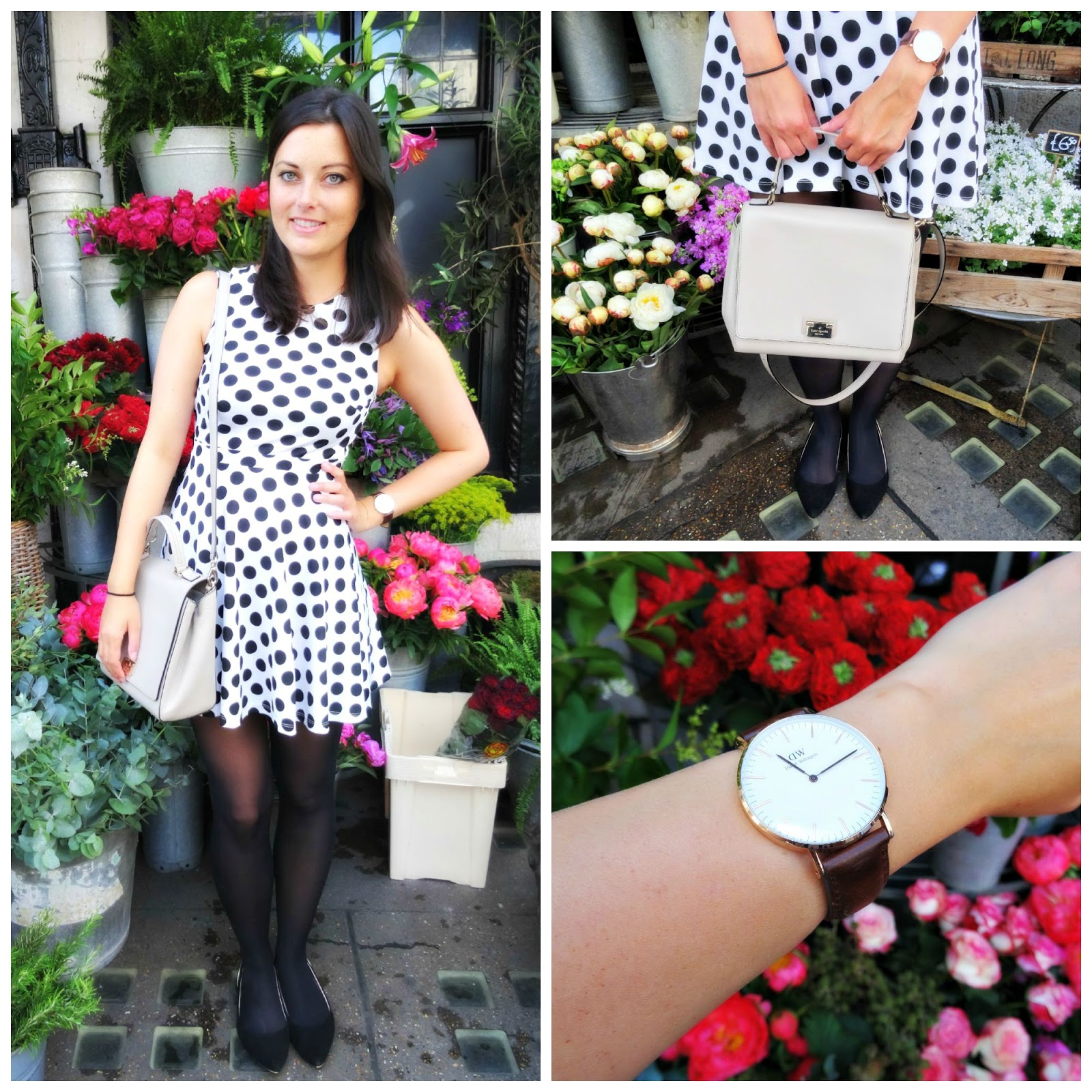 Fashion Post London Polka Dot Dress