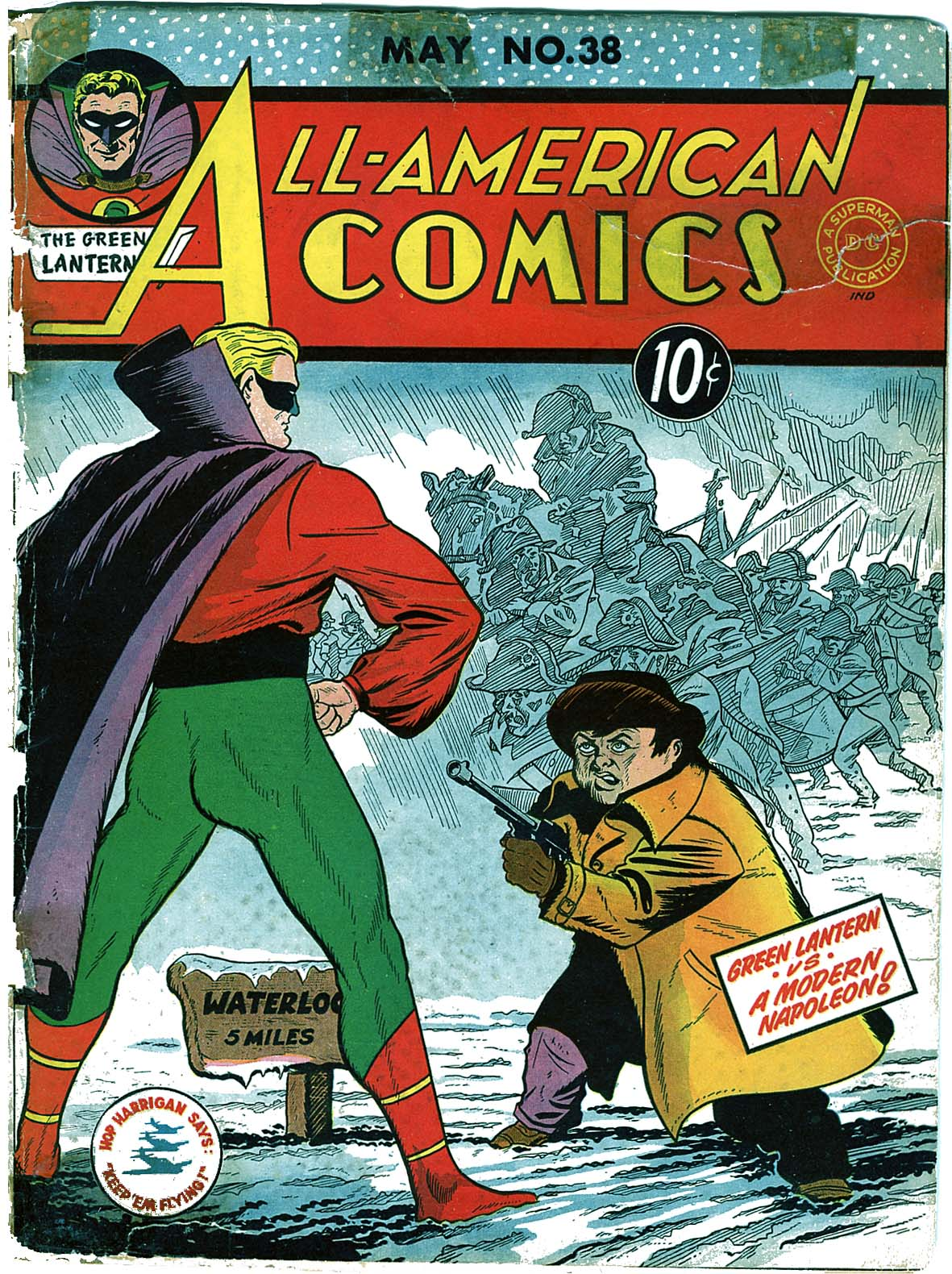 Read online All-American Comics (1939) comic -  Issue #38 - 1