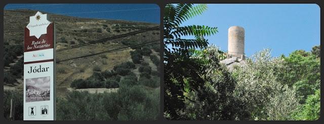 Torreón de Cuadros en la ruta del río en sierra Mágina
