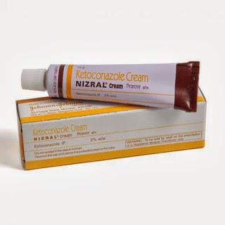 Nizoral cream รักษาสิวผด