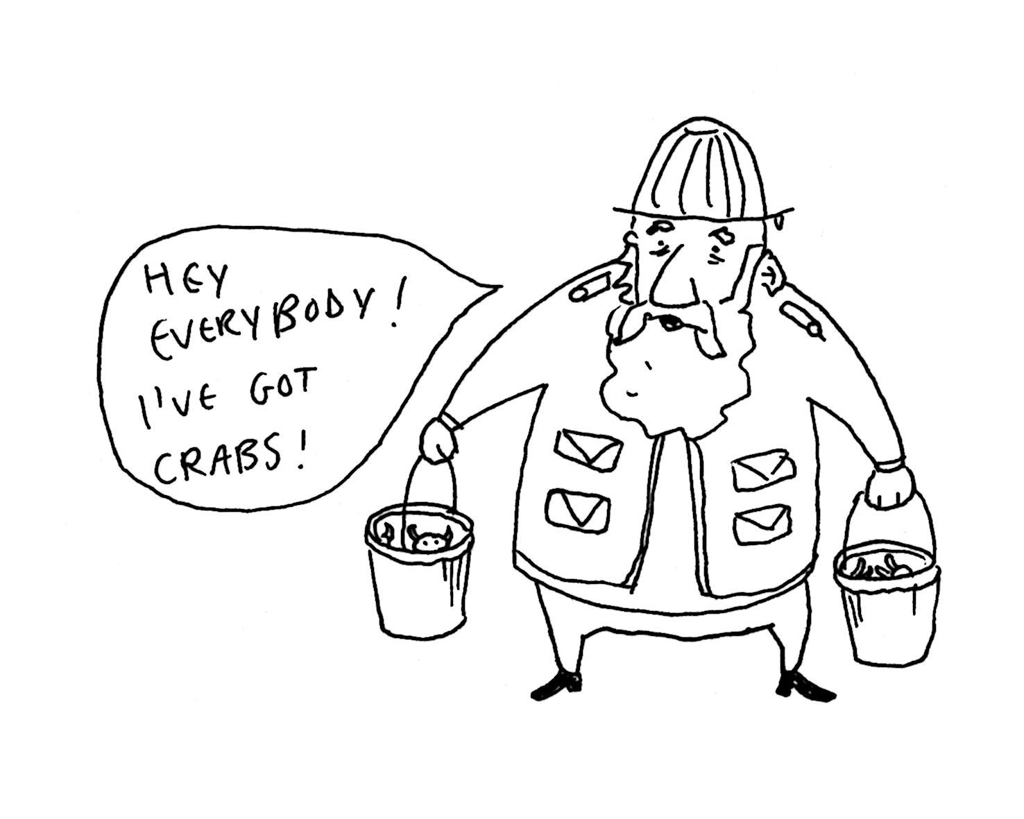 Matty Long Illustration: The Fisherman
