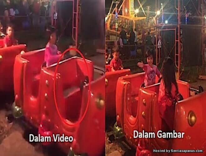 Penampakan Wanita Misteri Di Funfair Port Dickson