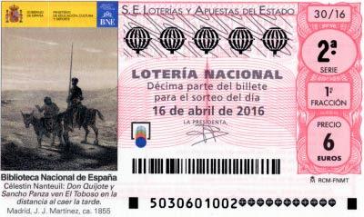 loteria nacional sabado 16/04/2016