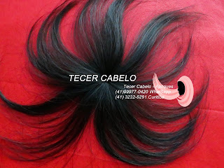 Fechamento de peruca, de mega hair