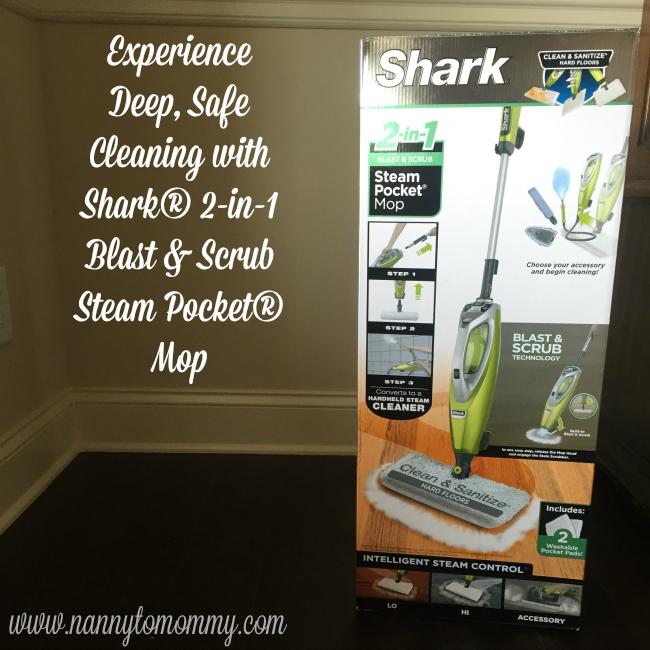 Nanny To Mommy Experience Deep Safe Cleaning With Shark