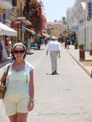 Magosa sokaklarında dolaşırken, Kuzey Kıbrıs