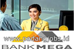 Lowongan Kerja Padang: PT. Bank Mega Tbk Juni 2018