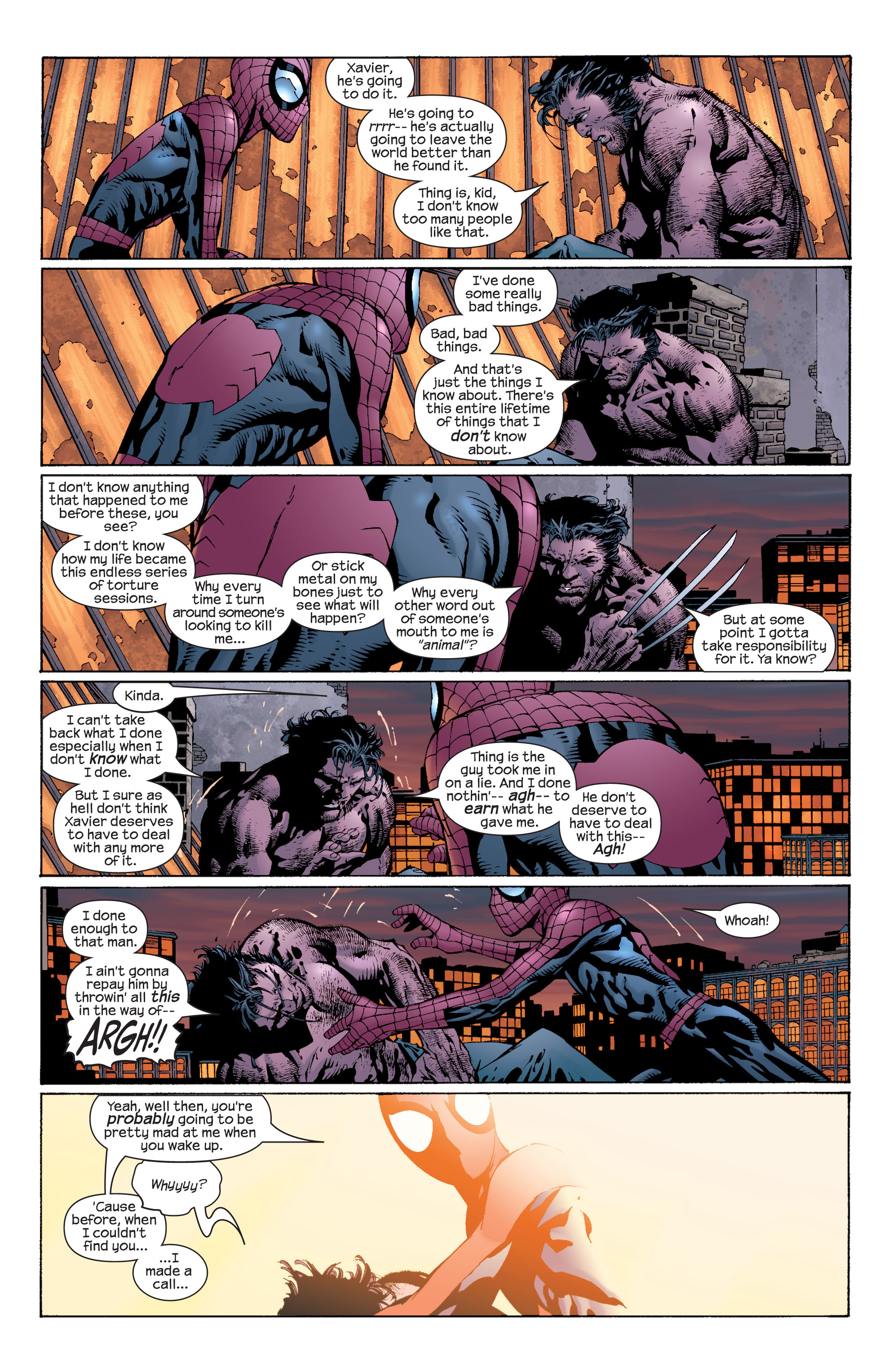 Read online Ultimate X-Men comic -  Issue #37 - 19