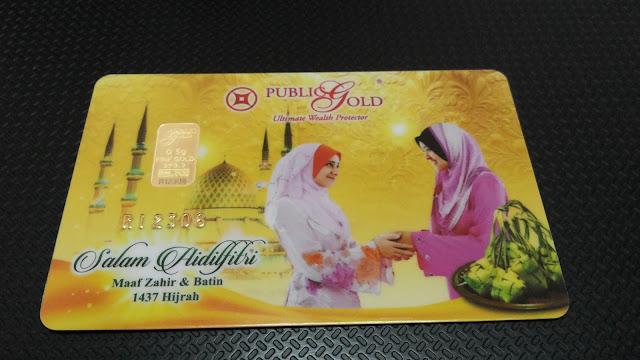Emas Edisi Terhad Raya 2016 Public Gold