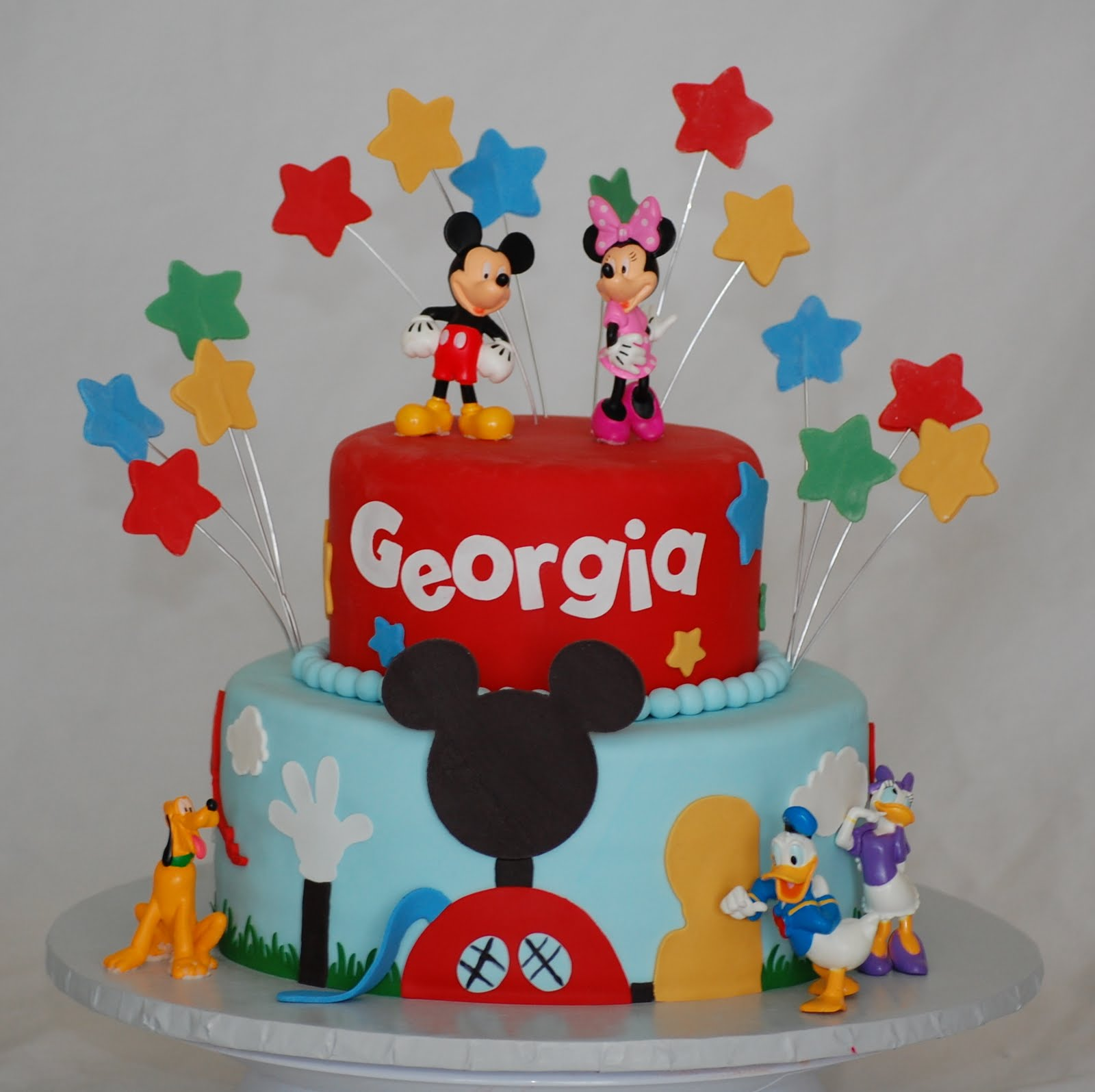 CakeFilley: Mickey Mouse Club House Cake #2