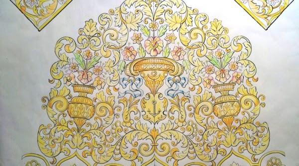 Así es el nuevo bordado para la Virgen de la Esperanza de Alcalá de Guadaira
