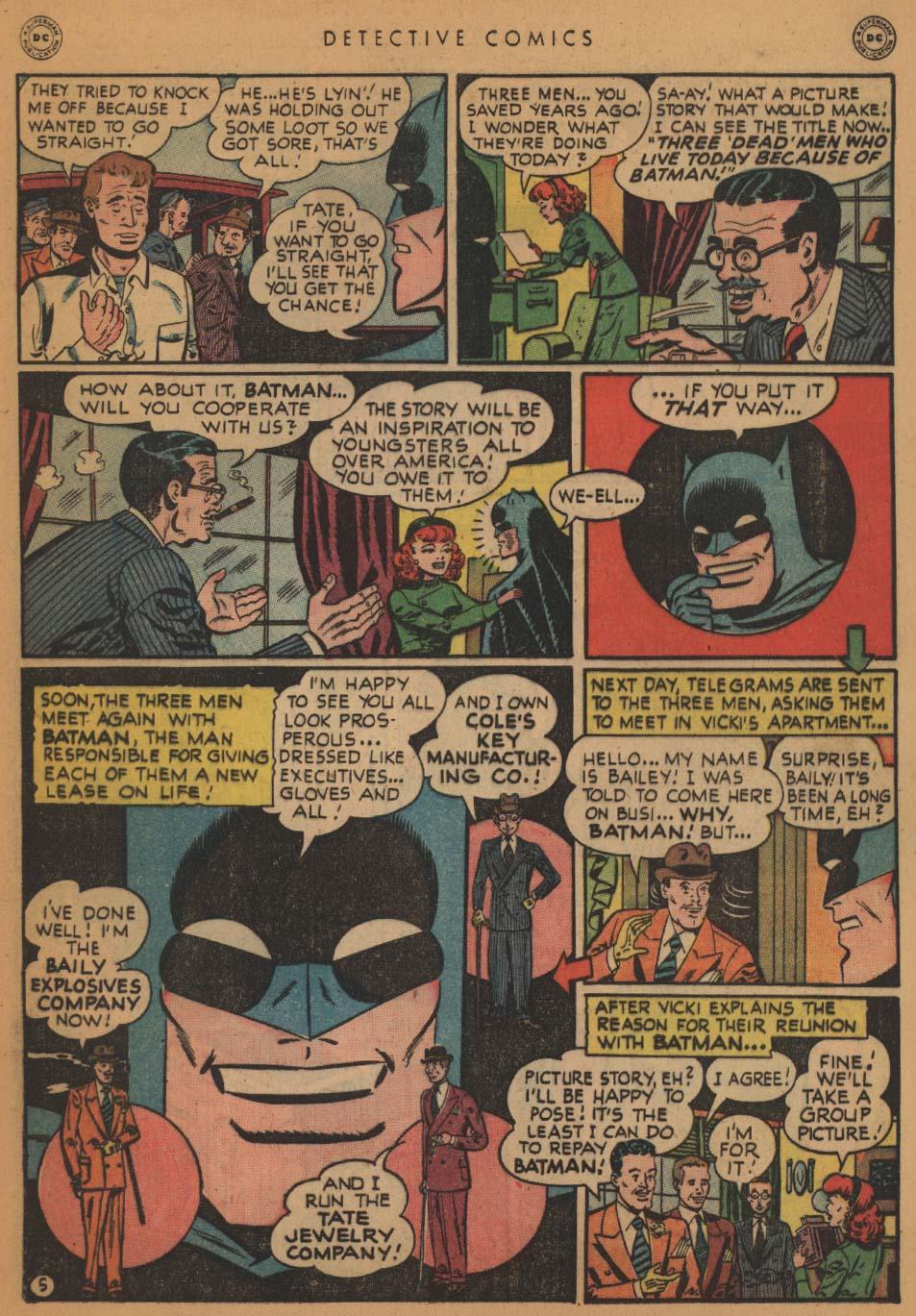 Read online Detective Comics (1937) comic -  Issue #152 - 7
