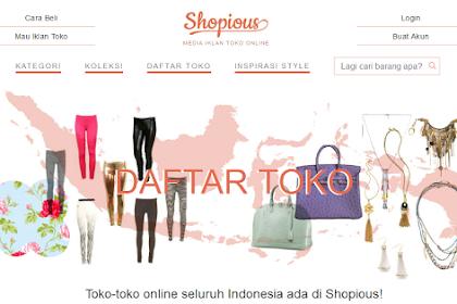 Shopious : Berbelanja Busana Muslim Menjadi Fashionable