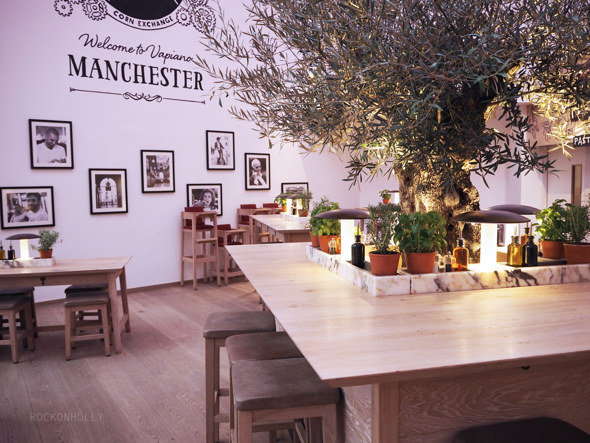 Vapiano Manchester Food Review