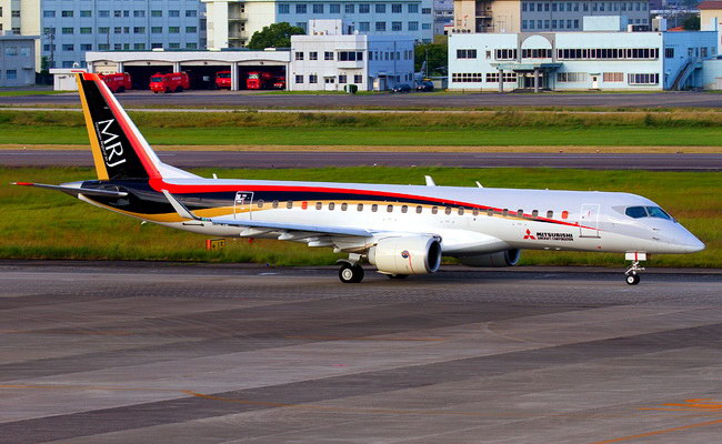 Tinuku Mitsubishi Aircraft announced MRJ jet aircraft will be delivered by 2020